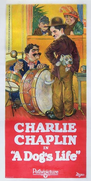 a dog's life poster charlie chaplin