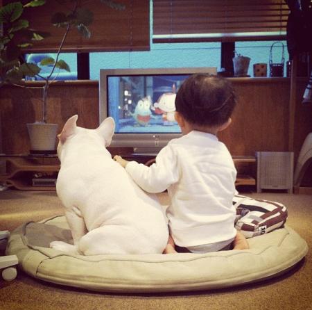 tasuka boy and his dog