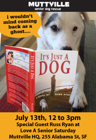 muttville book party its just a dog