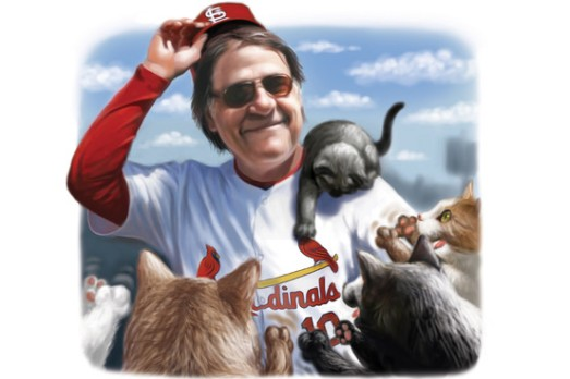 manager and his cats tony larussa scott pollack