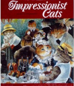 impressionist cats book susan herbert