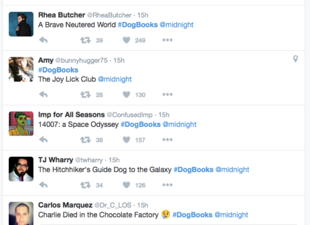 #midnight dogbooks twitter