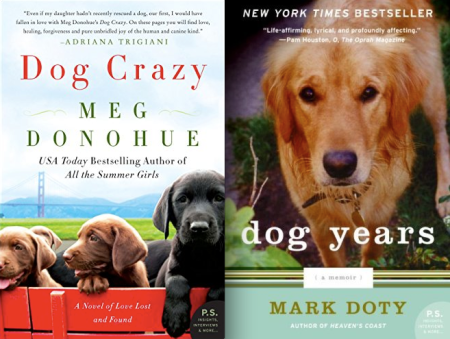 bookbub dog crazy meg donohue dog years mark doty